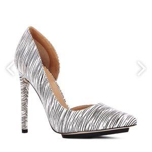 Shoes - Zebra Heels!